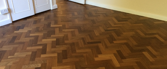 Parquet sanding and sealing - Bournemouth